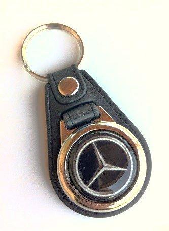 Llavero coche metal y piel Mercedes con modena carro ...