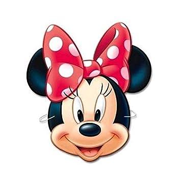 Minnie Ratón Minnie Mouse 6 x Máscara de Cartón para ...