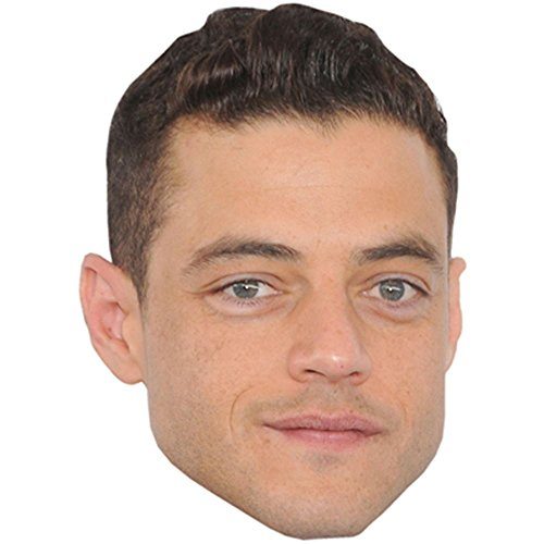 Rami Malek Celebrity Mask, Card Face and Fancy Dress Mask