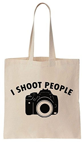 Tote Cotton I Shoot People Design Camera Bag Canvas dwYqYIpxr
