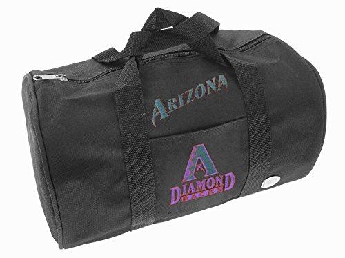 Mighty Mac Arizona Diamondbacks MLB Kids Mini Duffle Bag, - Mini Embroidered Duffle
