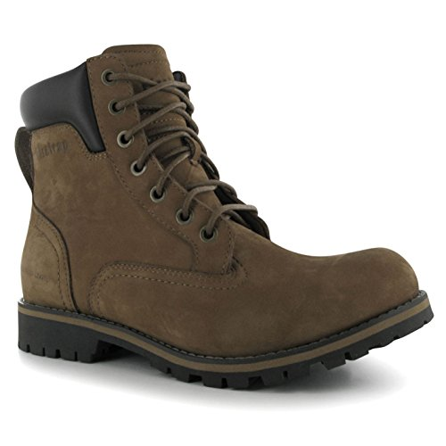 Firetrap Mens Total Bt Boots Lace Up Shoes Casual Footwear Brand New Crazy Horse 11 (45)