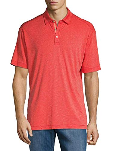 Tommy Bahama La Jolla Cove Golf Polo Shirt (Color: Bright Coral, Size XXL) (Tommy Bahama Polo)