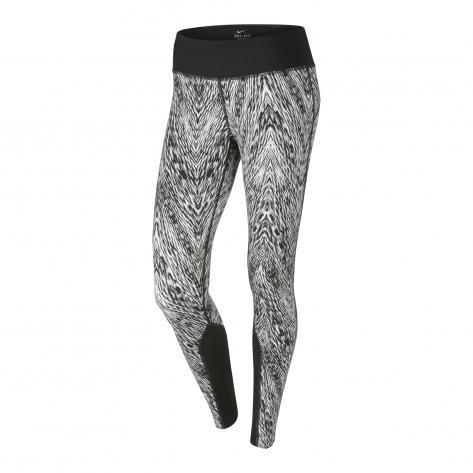 Nike Women's Epic Run Printed Running Tights, Black, Large