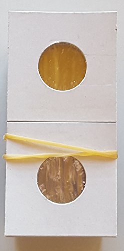 "Coin Flips For Nickels, 100 Count, Guardhouse Brand Cardboard and Mylar 2""x2"" Paper Coin Holders"