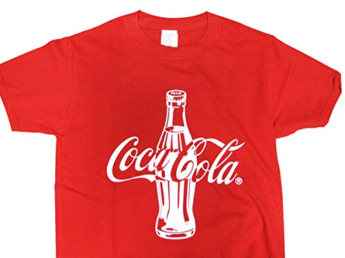 絶対の口大洪水Coca-Cola/コカコーラ プリントTシャツ/レッド(CC-VT9-RD) コカコーラブランド USA アメカジ ブランド ドリンク アメリカン雑貨 アメリカ雑貨 コカコーラ