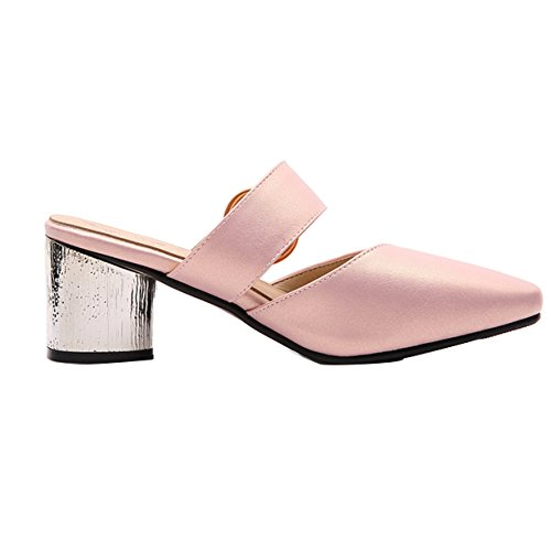 Mules JYshoes Femme JYshoes Rose Mules ZXqO78Uwwx