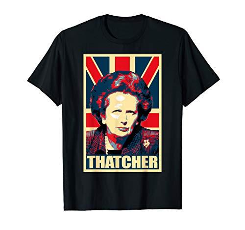 Margaret Thatcher Propaganda Poster Pop Art T-Shirt