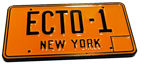 Collectable License Plate (Ghostbusters Ecto-1 License Plate Collectible Pin, NYCC '17 Exclusive)