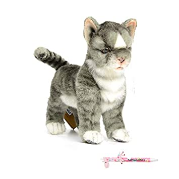 Amazon Com Hansa 6499 Kitten Stuffed Animals Cat Kid Plush Toys