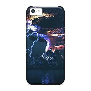 For ZUGxUjJ865RTMir Eruption Protective Case Cover Skin/iphone 5c Case Cover