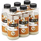 Keto Meal Replacement Shake with only 3g Net Carbs in a Bottle, 6 Meals Pack, Regular 400 Calories, Made with Natural Real Food Ingredients. Ample K Ketogenic Formula