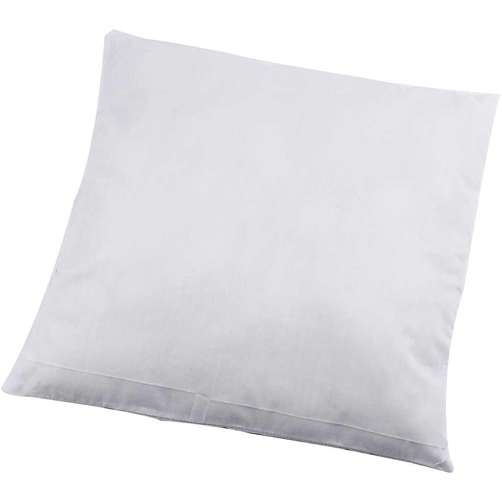 Taille 40x40 cm 250 g de Rembourrage en Polyester Blanc Coussin rembourr/é 1 pi/èce
