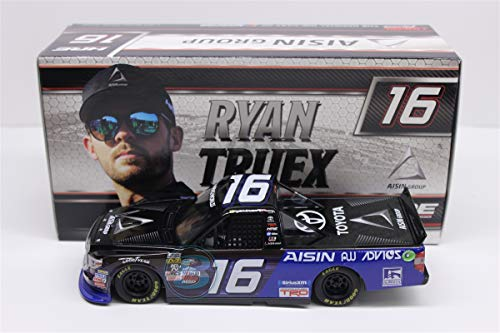 Lionel Racing T161724D9RT Ryan Truex #16 Aisin Group 2017 Toyota Tundra 1:24 Scale Diecast Truck, Multicolor ()