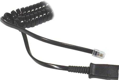 Plantronics Amplifier Coil Cord to QD Modular Plug, 26716-01 ()