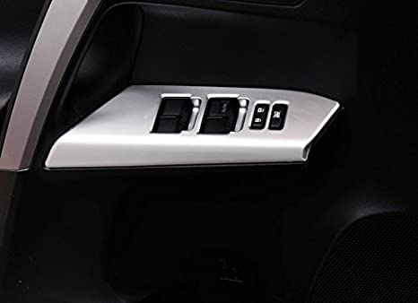 Black Generation XA40 2013 2014 2015 2016 2017 Interieur Metall Kofferraum Schutz Abdeckung 1 St/ück HIGH FLYING f/ür RAV4 4