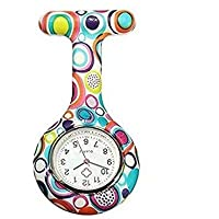 Reloj Médico Reloj Prendedor de Broche de Túnica