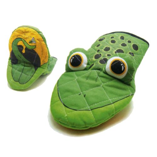 Oven Mitt Frog - Frog Kitchen