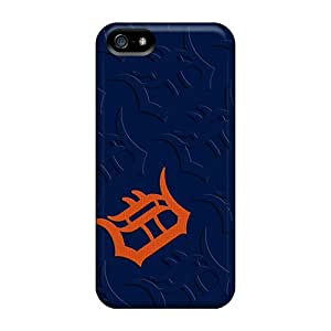 Shock Absorption Hard Phone Cases For Iphone 5/5s (jOR13714Noew) Customized Stylish Detroit Tigers Pattern