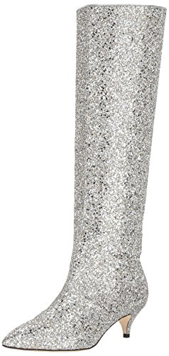 kate spade new york Women's Olina, Silver/Gold, 7 M US by kate spade new york