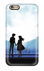 Awesome Case Cover/iphone 6 Defender Case Cover(anime Love Couple In Moonlight)
