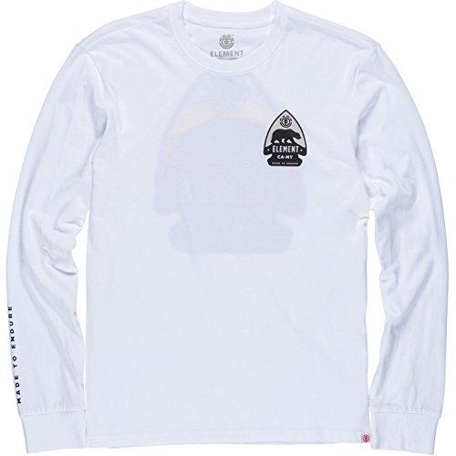 Element Arrow Long Sleeve T-Shirt X Large Optic White (Arrow Element)