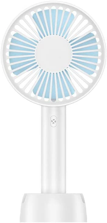 Small Fan Usb Electric Fan Mini Portable Shaking Head With Handle Summer Mini Student Dormitory Bed Rechargeable Small Bedroom Office Desktop Silent Wind Moving Head Fan DC5V-2A 5W maximum