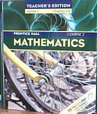 Mathematics Course 2 Teacher (Combo-ISBN: 0-13-068556-9) pdf