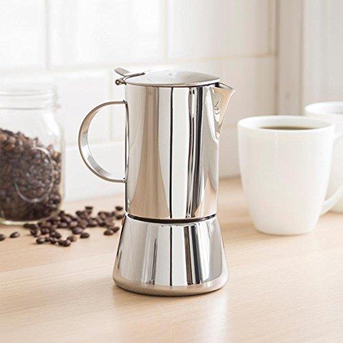 Vev Vigano Sonia Inox 4-cup Coffee Pot by Vev Vigano