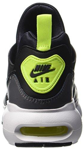 Nike Mens Air Max Prime Scarpa Da Corsa Nero Grigio Scuro Volt