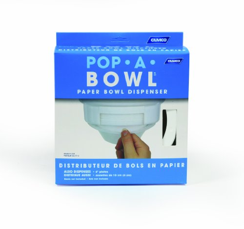 Camco 57211 Pop-A-Bowl (White)