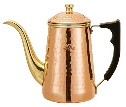 Kalita Copper Pot 0.7L # 52019 for Great Coffee by Kalita