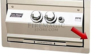 product image for Fire Magic Grills Power Burner & Built-in Double Sear Station Trim Kit