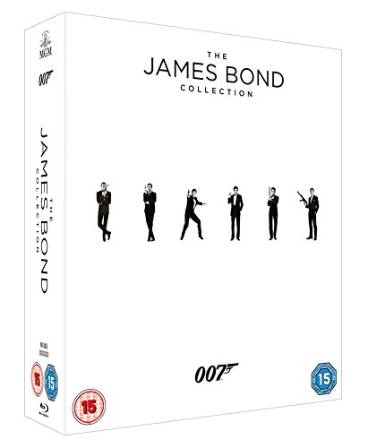 James Bond Collection - 23-Disc Box Set ( Skyfall / Quantum of Solace / Casino Royale / Die Another Day / The World Is Not Enough / Tomorrow Never Dies / [ Blu-Ray, Reg.A/B/C Import - United Kingdom ]