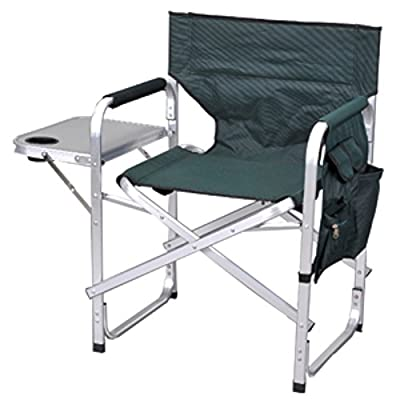 Ming's Mark SL1204GREN Directors Chair with Table