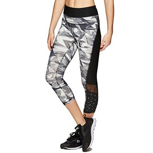 c6c23805a3 RBX Active Women's Seasonal Printed Capri Length Yoga Leggings ...
