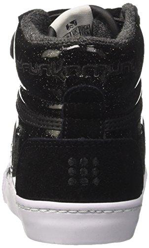 DrunknMunky Boston Planet - Zapatilla Alta Niñas Negro (Black)