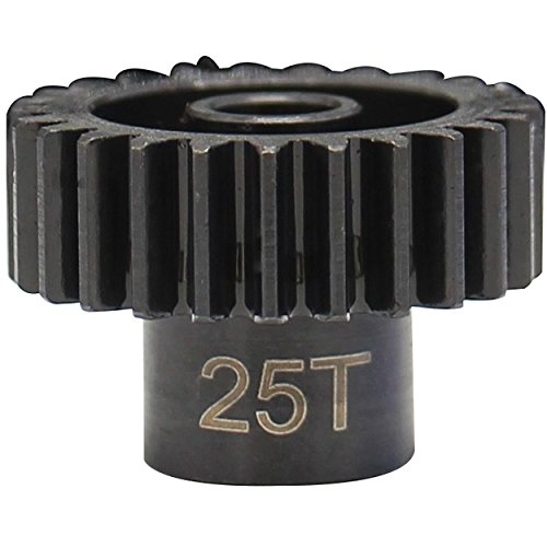 Hot Racing NSG225 25t Steel 32p 0.8m Pinion Gear 5mm