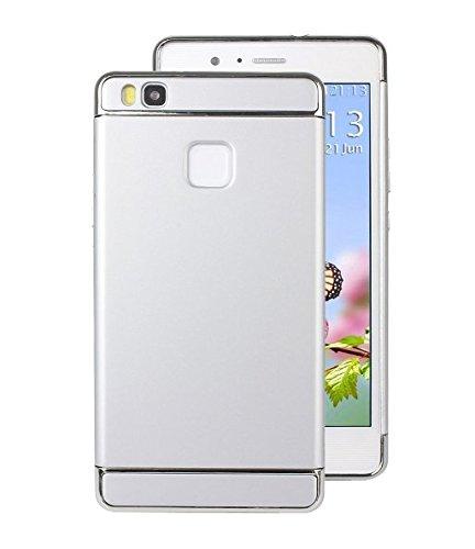 Cover JEPER PC drapante Argent en 3 Huawei Lite Huawei P9 Ultra Mince 2 Lite Statique Placage Anti Anti 5 Rayures 1 Pouces Anti Coque P9 pour T8wfq6rT