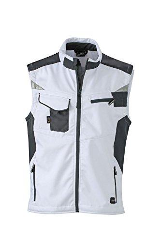 nbsp; Softhell Con Qualità Professionale In Giubbotto White Workwear Dotazione Di Softshell carbon Vest nSq01BBx