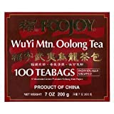 Oolong Tea , Wuyi Oolong Tea , Wu Yi Oolong Tea , 2 Pak , 2 x 100 Individual Tea Bags