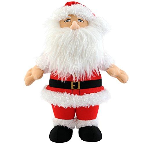 Bleacher Creatures Santa Clause Plush Figure, 10' (Figure Santa Plush)