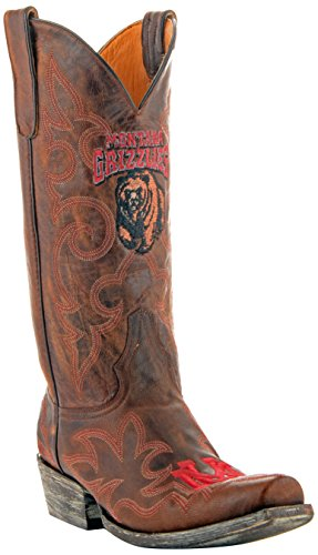 NCAA Montana Grizzlies Mens Gameday Boots Brass mrk2B0Gxeg