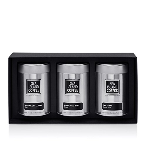Wild Animal Gift Set - Whole Bean (3 x 1.8 Oz Tins) ()
