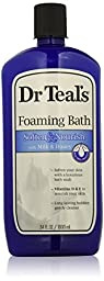 Dr. Teal\'s Foaming Milk Bath with Milk and Honey, 34 Fluid Ounce