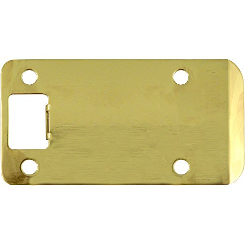 Stone Harbor Hardware 50104-3 Extended Lip Strike Plate with 4