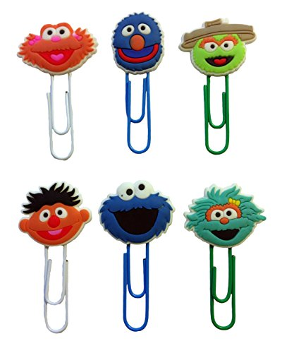 sesame-street-bookmarks-paperclips-for-book-page-holder-6-pcs-set-1