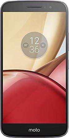 Motorola Moto M (Gray, 64 GB, 4 GB RAM) Smartphones at amazon