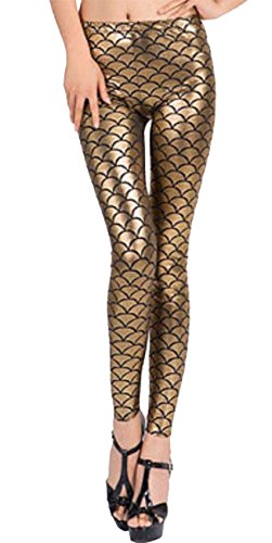 Fashions Gold Donna Leggings Leggings Islander Islander Fashions YTXq5p