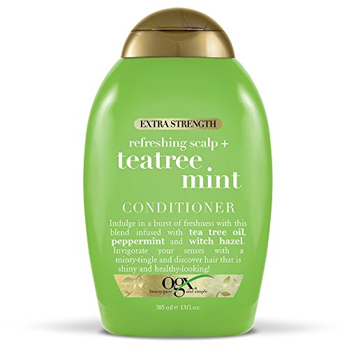 OGX Extra Strength Refreshing Scalp + Tea Tree Mint Conditioner, 13 Ounce
